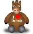 At Least Detroit Sewage Horsies Would Be Properly Shod